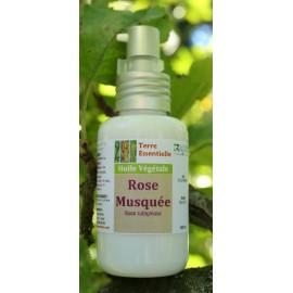 Huile végétale Rose musquée
