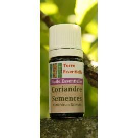 Huile essentielle Coriandre semences