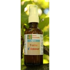 Spray d'huiles essentielles Terre d'amour