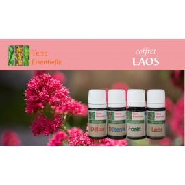 Coffret Laos 4 Synergies d'huiles essentielles