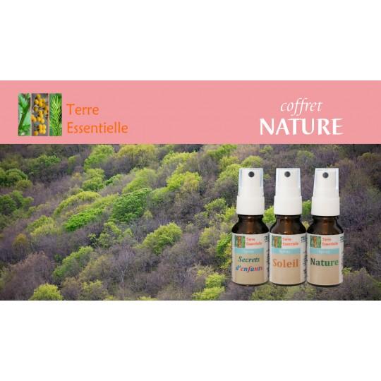 Coffret Nature 3 Sprays d'huiles essentielles
